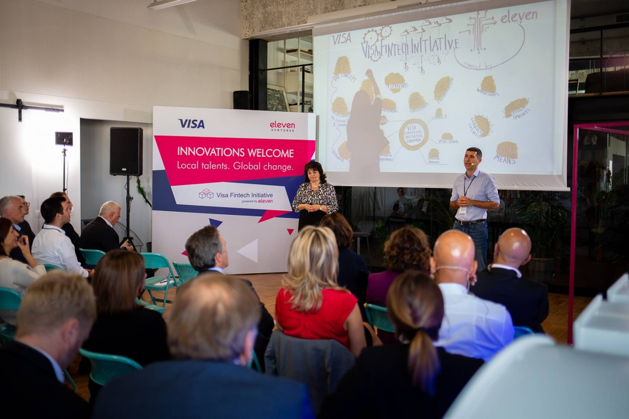 Visa и фондът Eleven обявиха партньорство, насочено към финтех стартъпи