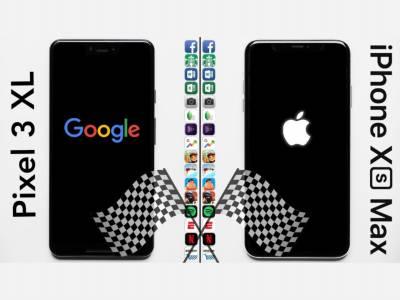 iPhone XS Max съкруши Google Pixel XL 3 във втория кръг на тест за бързина на работа
