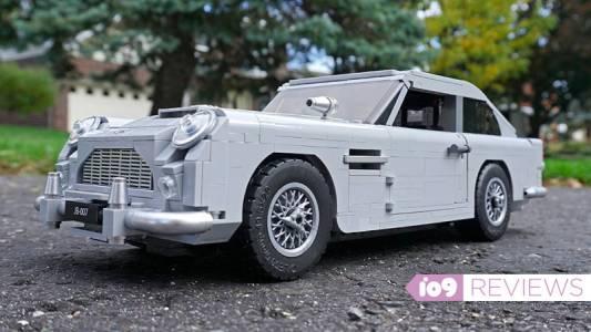 LEGO моделът на Aston Martin DB5 ви кара да се чувствате като Джеймс Бонд