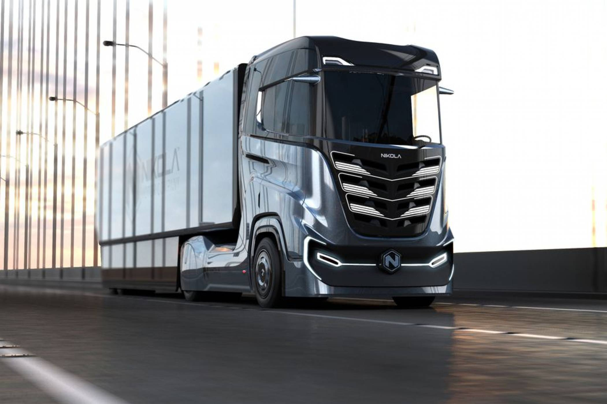 Новият камион с водородно гориво на Nikola ще се движи по европейските пътища