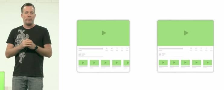 Android ще поддържа новия писък на модата - сгъваемите дисплеи