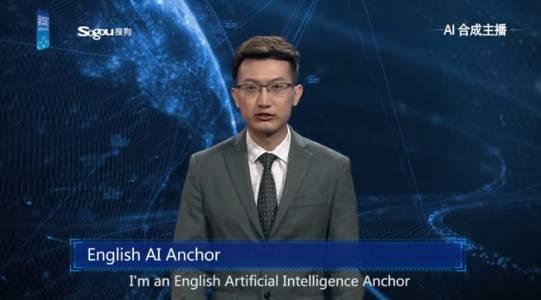 AI водещи ще четат новини в държавната китайска медийна агенция