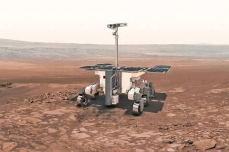 Марсоходът ExoMars ще търси живот около екватора на Червената планета