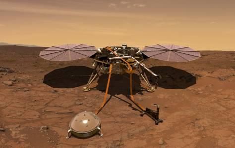 С InSight NASA се надява да продължи успешните кацания на Марс