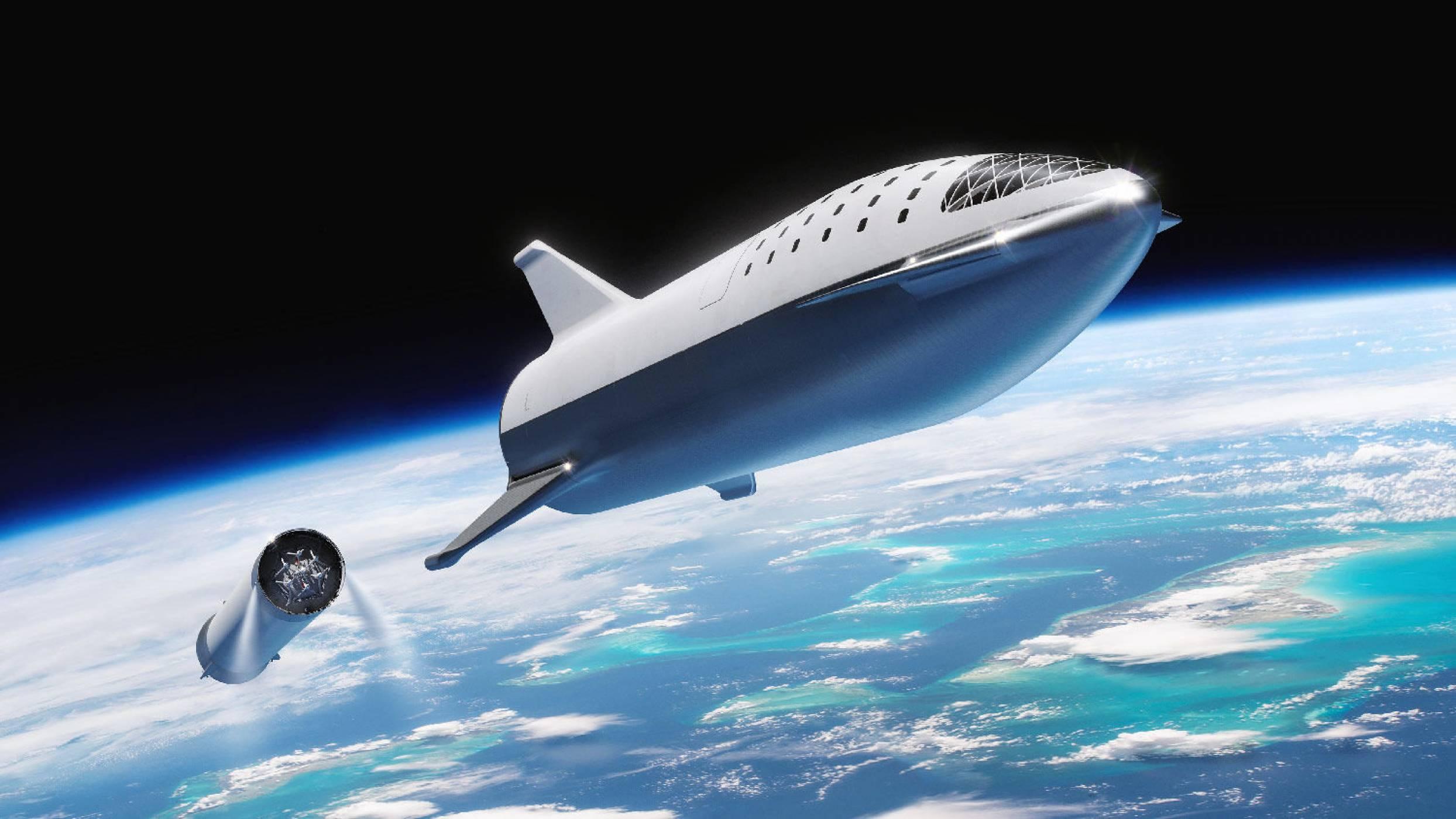 Ракетата BFR на SpaceX има ново име: Starship (ВИДЕО)