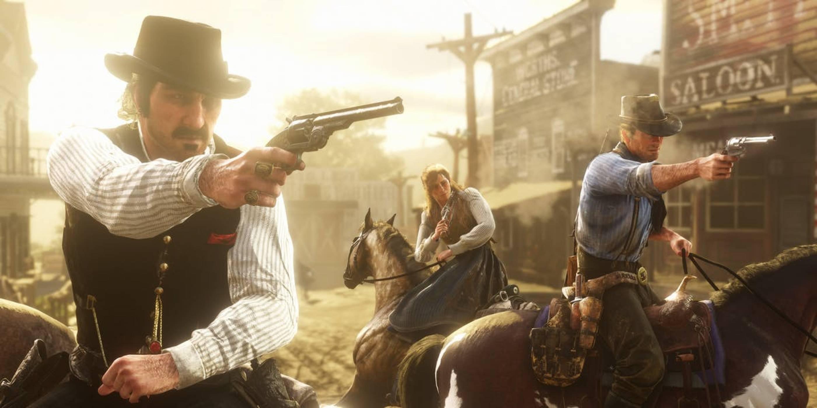 32-ма играчи мерят сили в Battle Royale режима на Red Dead Online