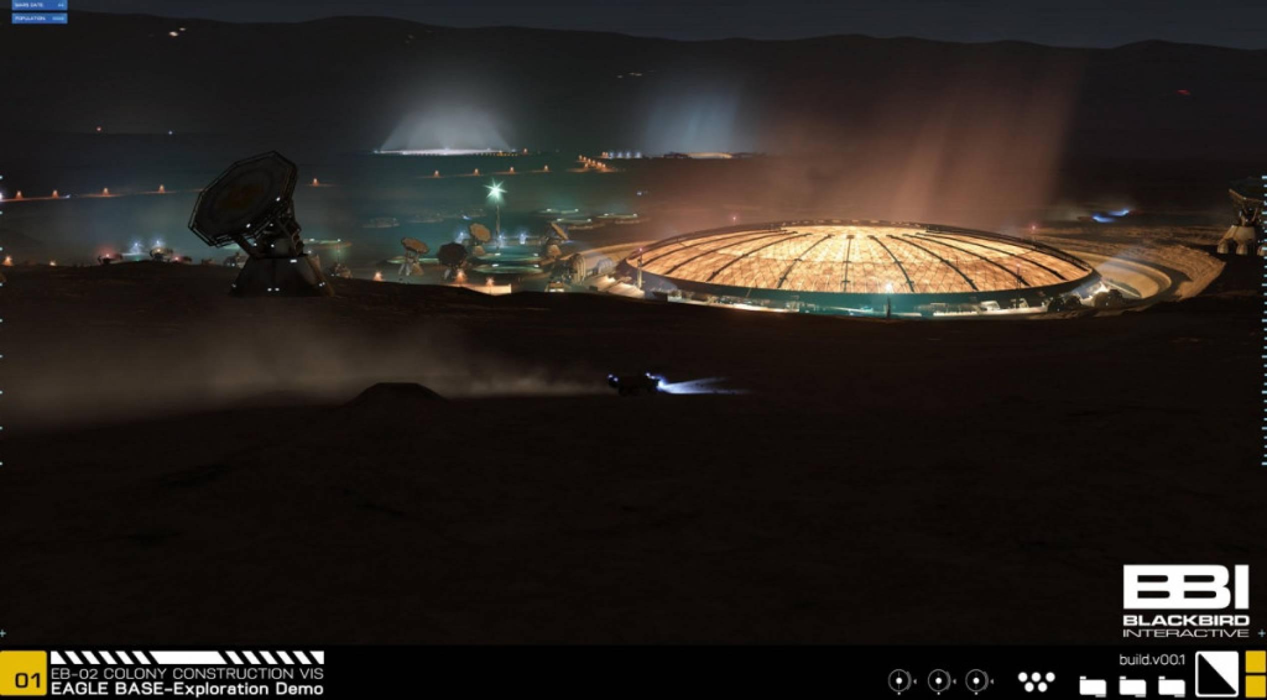 Project Eagle: това може да бъде първата ни колония на Марс (видео)