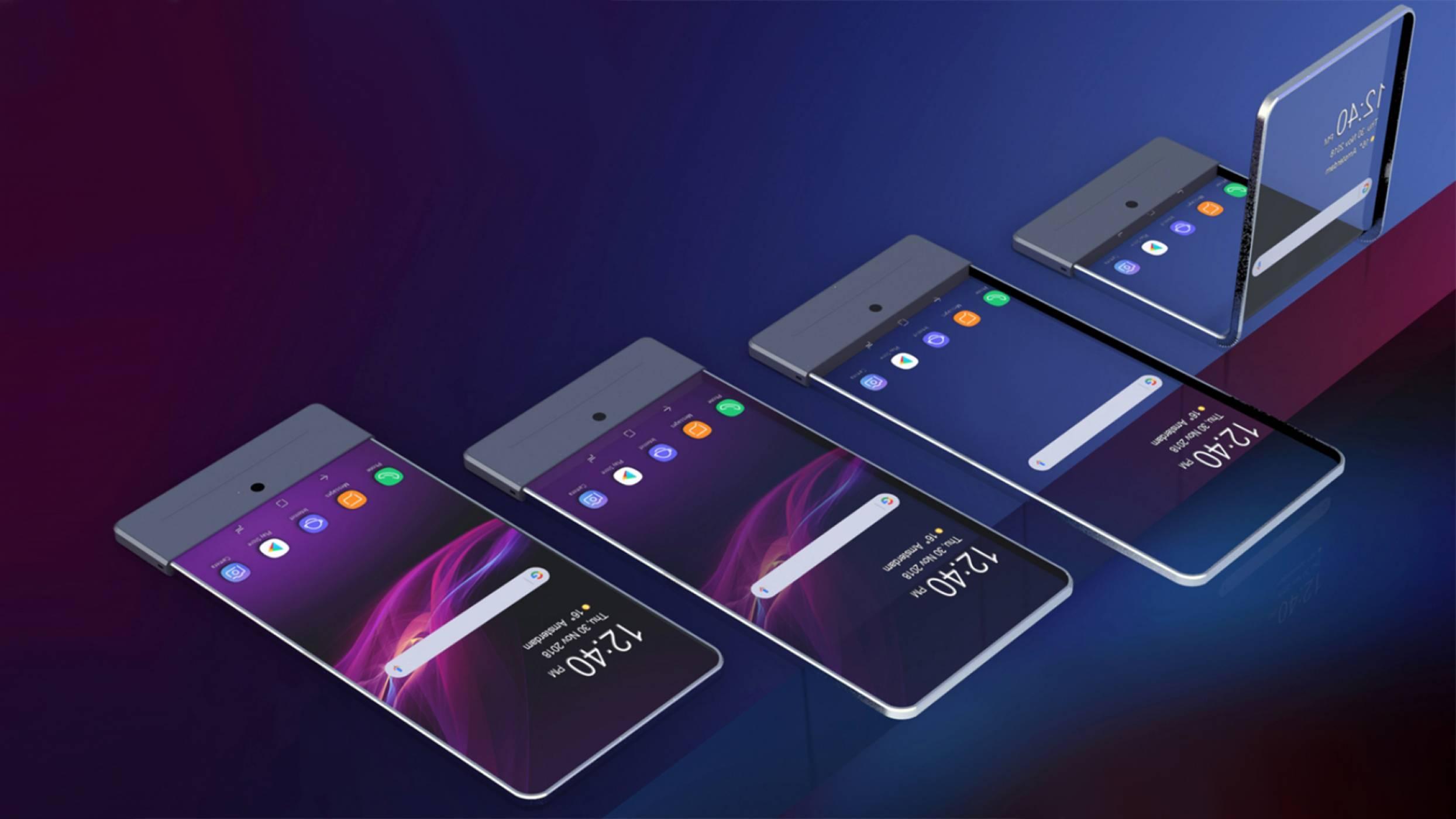Sony работи върху Xperia с гъвкав дисплей, който ще бъде и прозрачен (СНИМКИ)