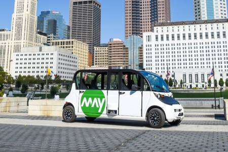 Първият самоуправляващ се градски транспорт в Охайо тръгва от 10 декември