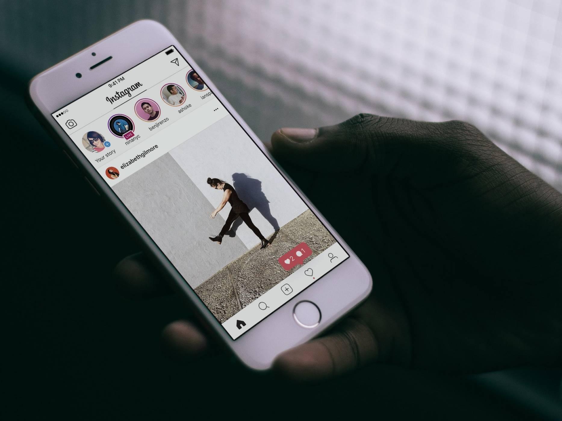 Instagram тества специални профили за инфлуенсъри