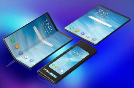 Гъвкавият телефон на Samsung с име и бясна цена