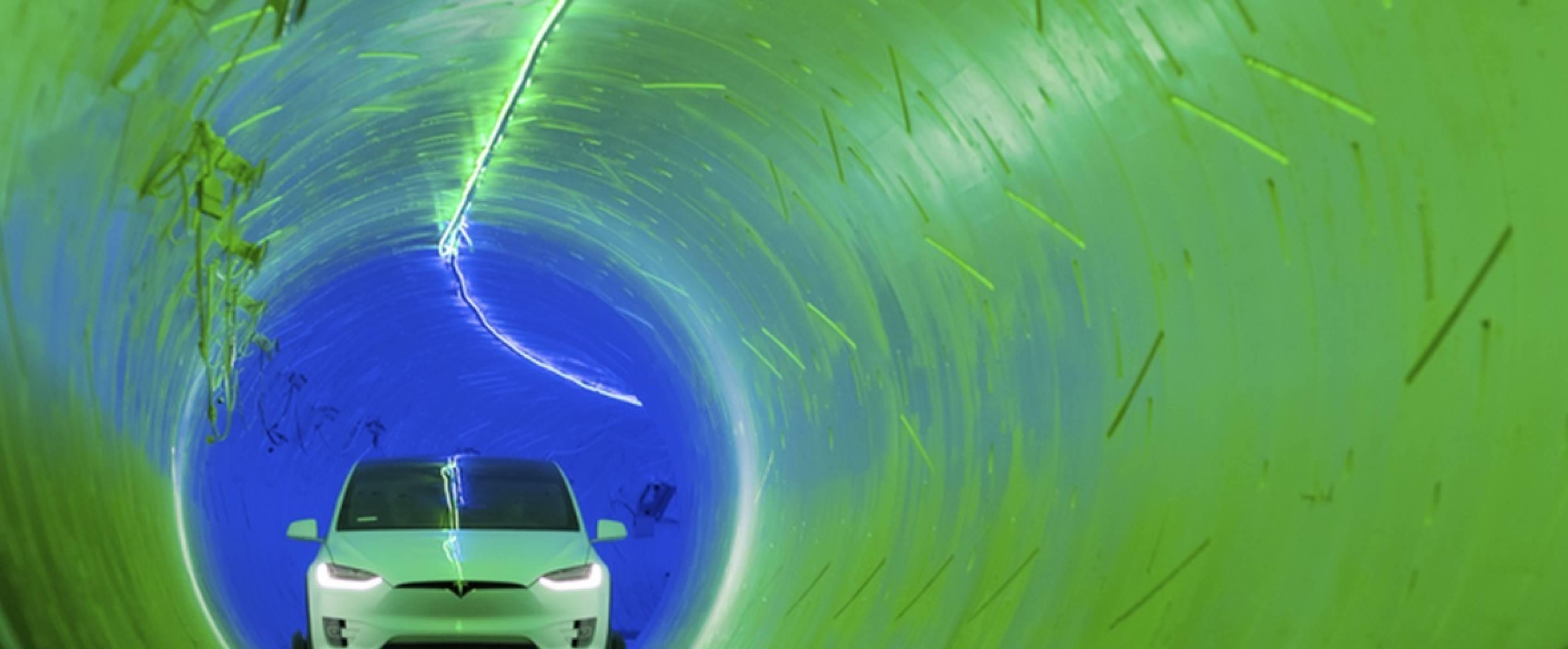 Това е първият високоскоростен тунел на Мъск под централата на SpaceX