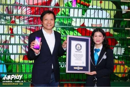 """Xiaomi влезе в """"Гинес"""" с рекорден жив дисплей (СНИМКИ)"""