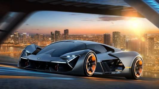 Хибридната Lamborghini LB48H идва през 2019 г. и свети в тъмното