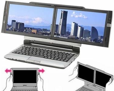 Dell с (полезен) дизайн за лаптоп с два екрана (СНИМКИ)