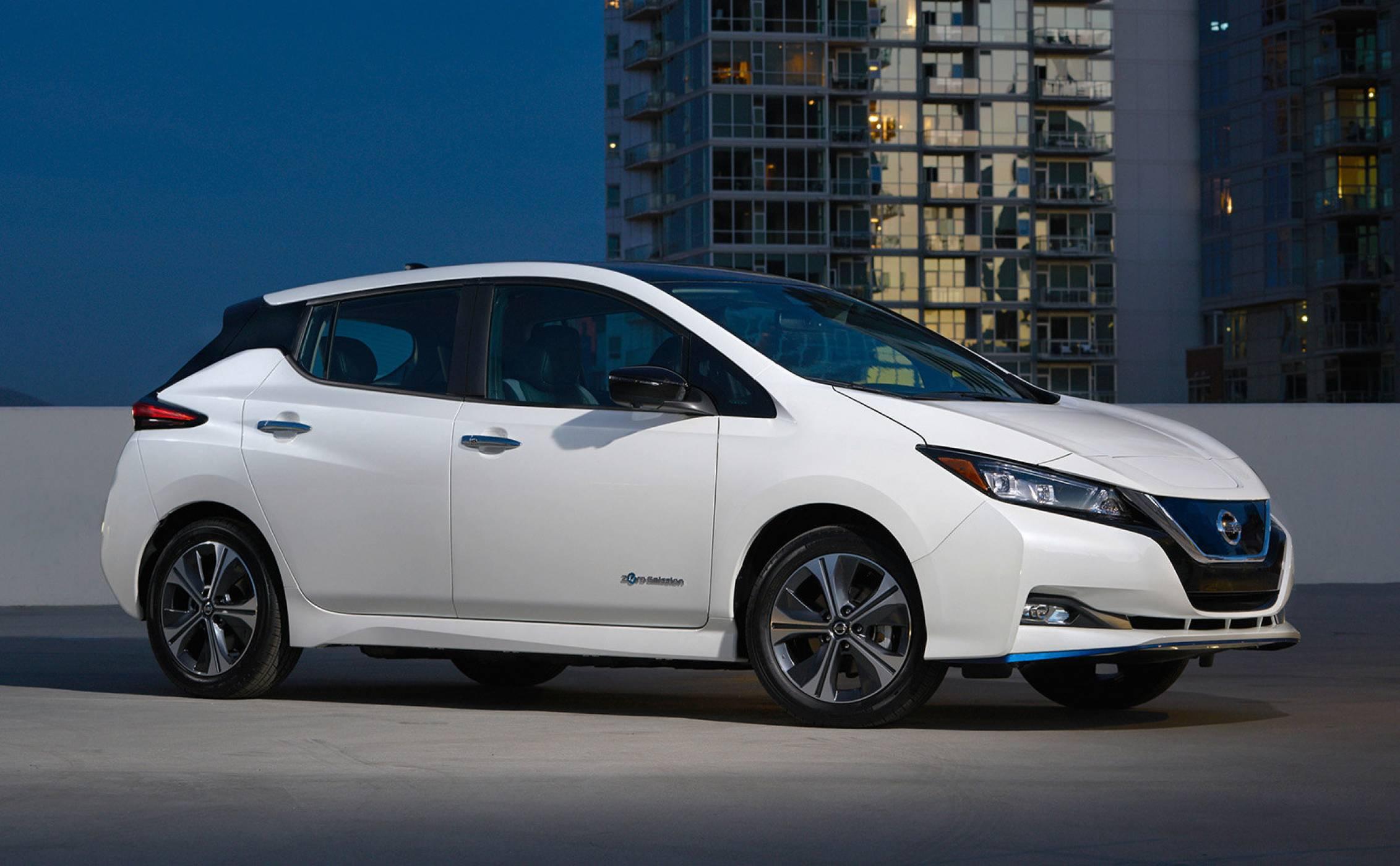 CES 2019: Nissan обяви новия си Leaf с най-голям пробег