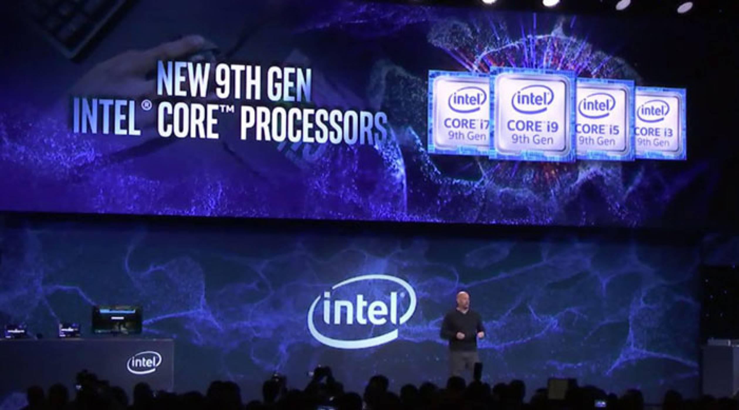 CES 2019: 9-ото поколение процесори на Intel се отказва от вградено GPU, за да се бори с AMD