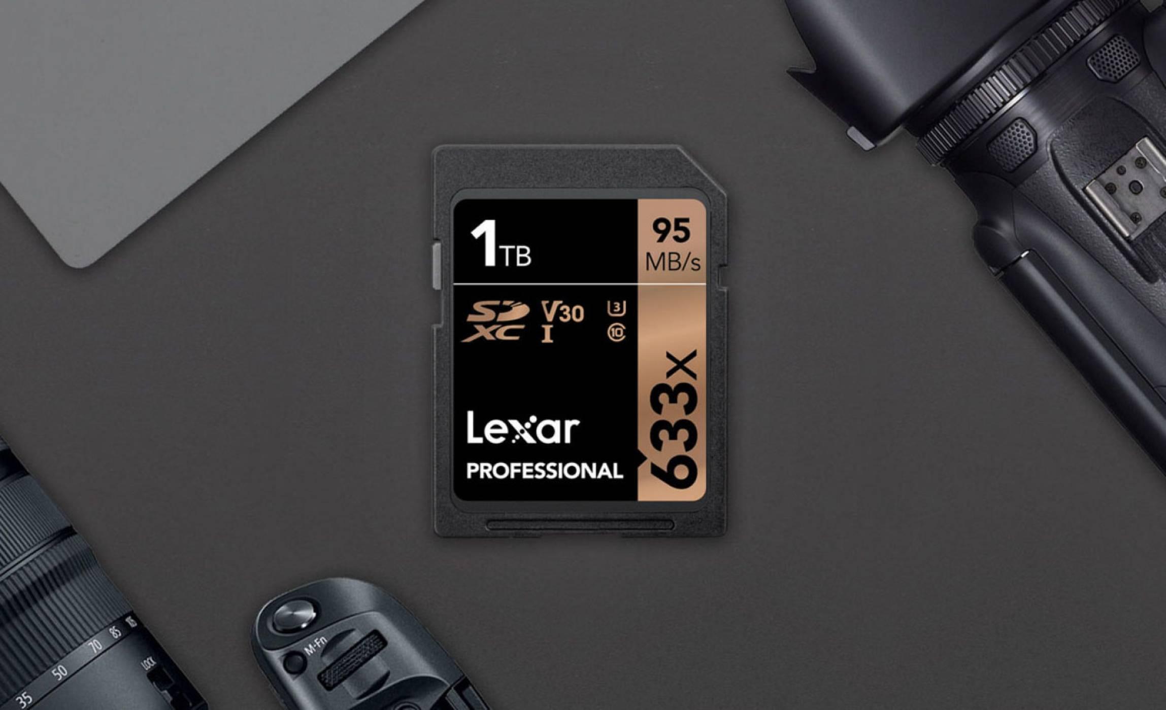 Lexar пусна първата 1 TB SDXC карта памет. 1 петабайт в обозримото бъдеще?