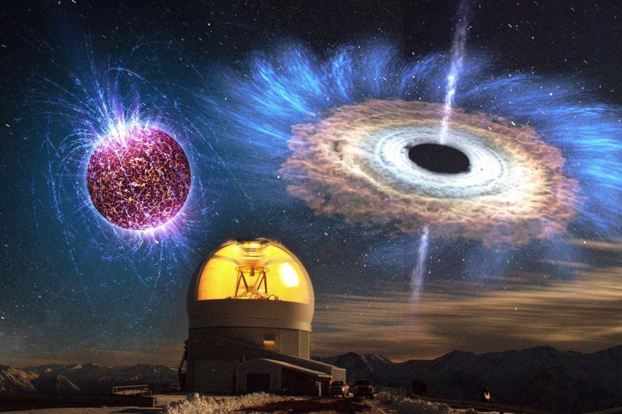 За първи път астрономи наблюдаваха раждането на черна дупка (СНИМКА)