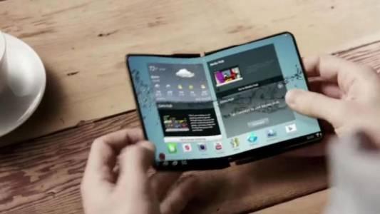 Гъвкавият телефон на Samsung с официална премиера