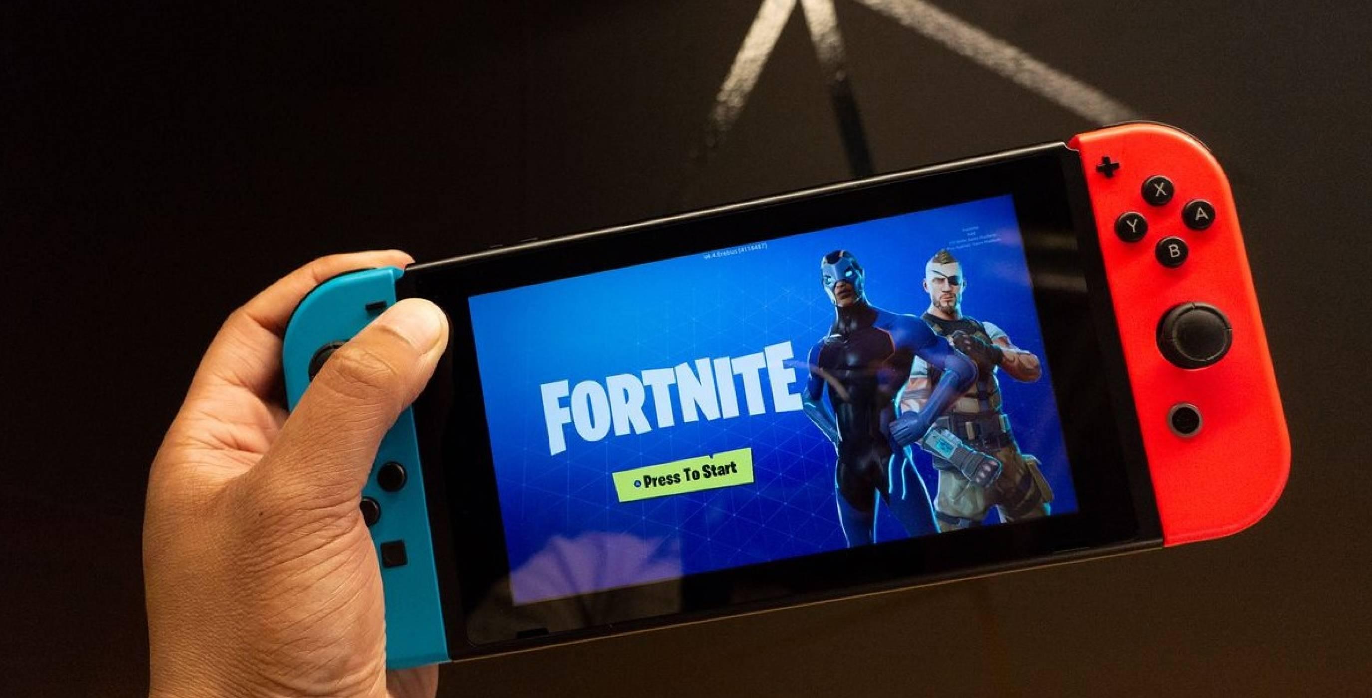 Fortnite е най-играната Switch игра за 2018 г. в Европа
