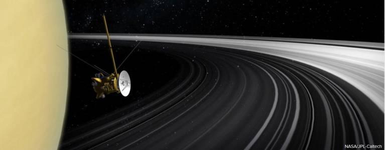 Прочутите пръстени на Сатурн се оказаха млада придобивка на планетата