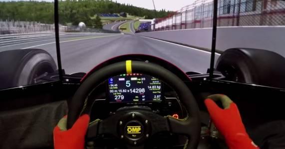 Сензационно: геймър победи бивш пилот от Формула 1 в реално състезание