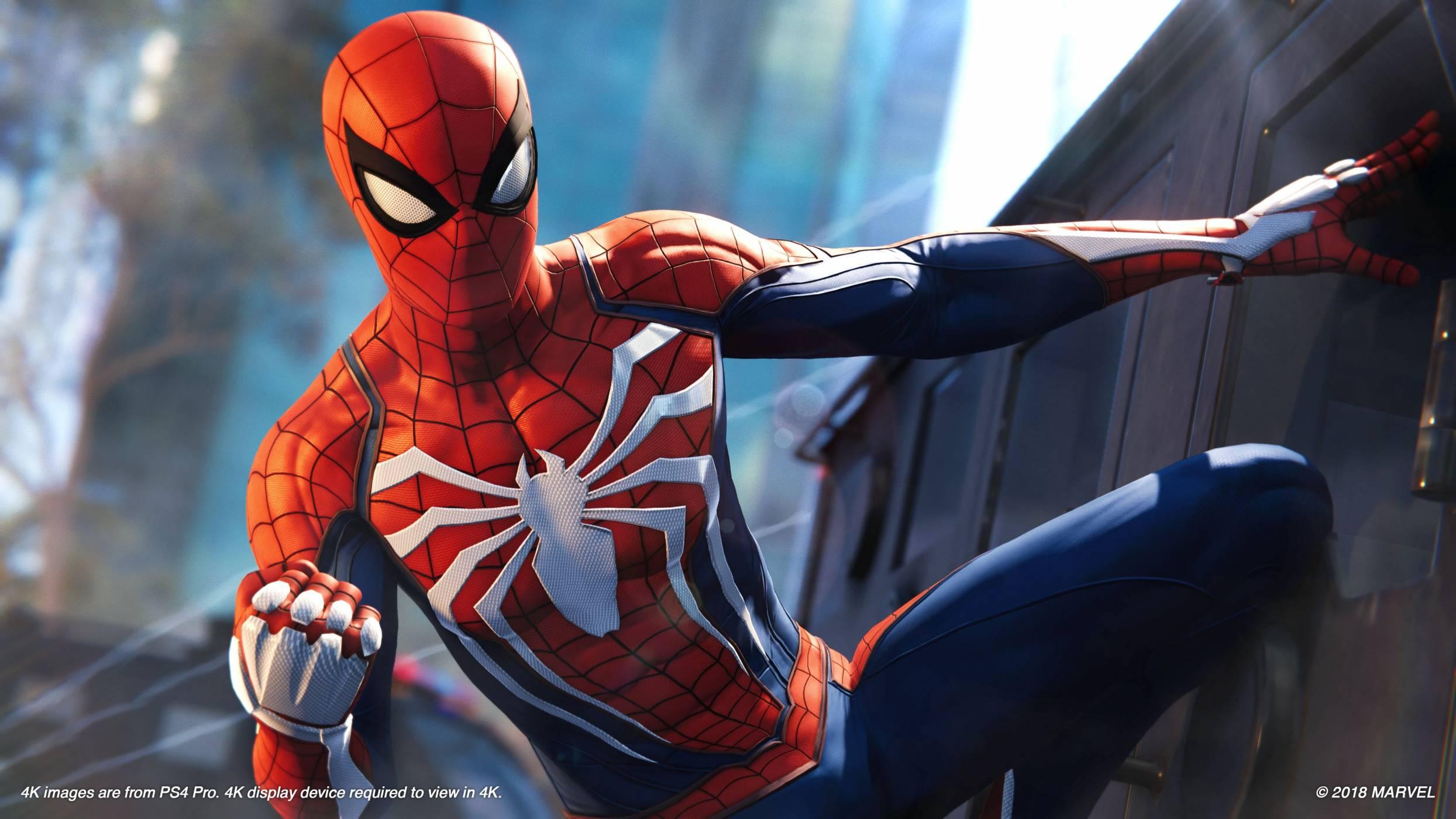 Безплатното съдържание на Spider-man за PS4 няма спирачки