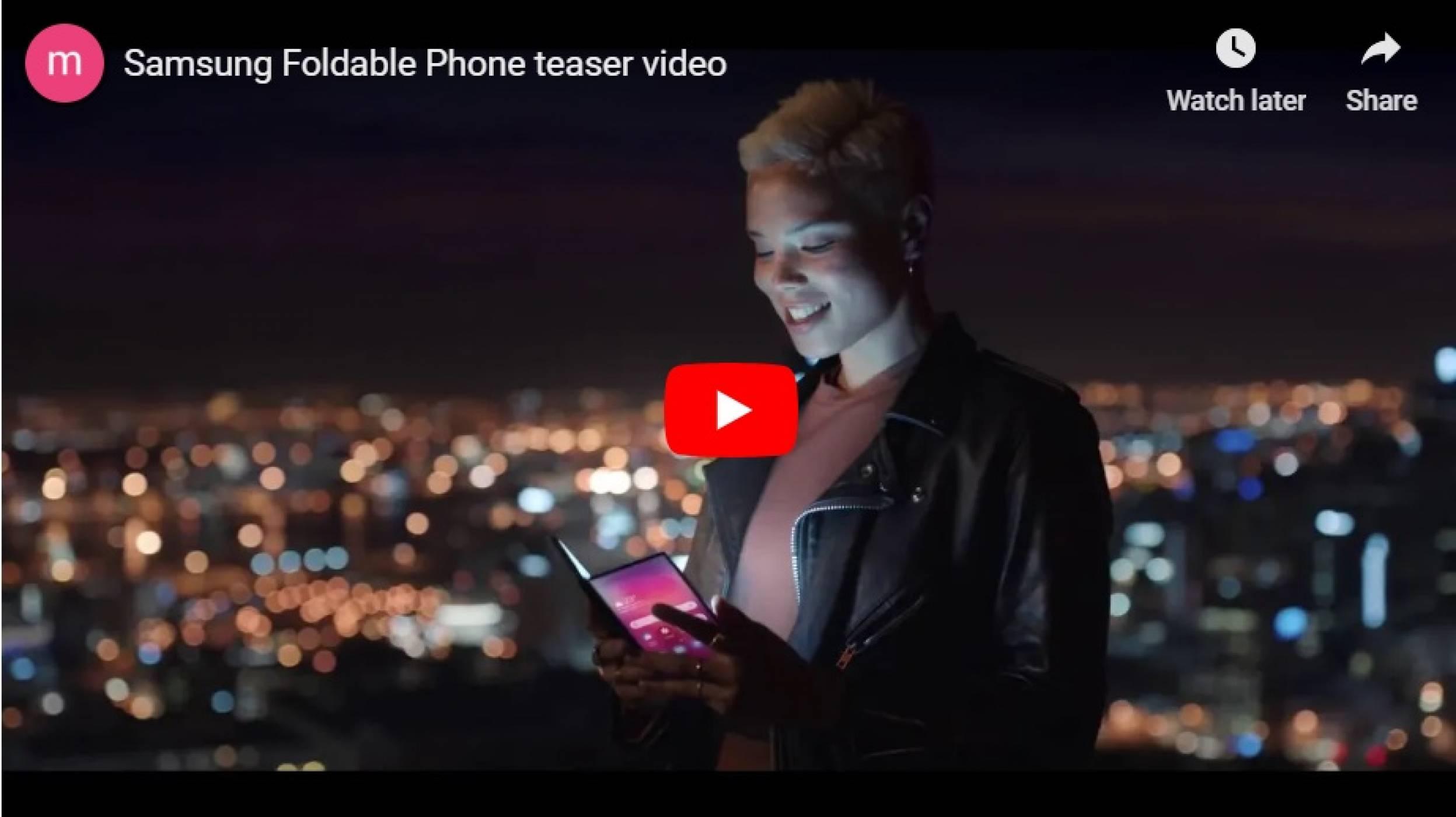 """Това ли е """"гъвкавият"""" смартфон на Samsung? (ВИДЕО)"""