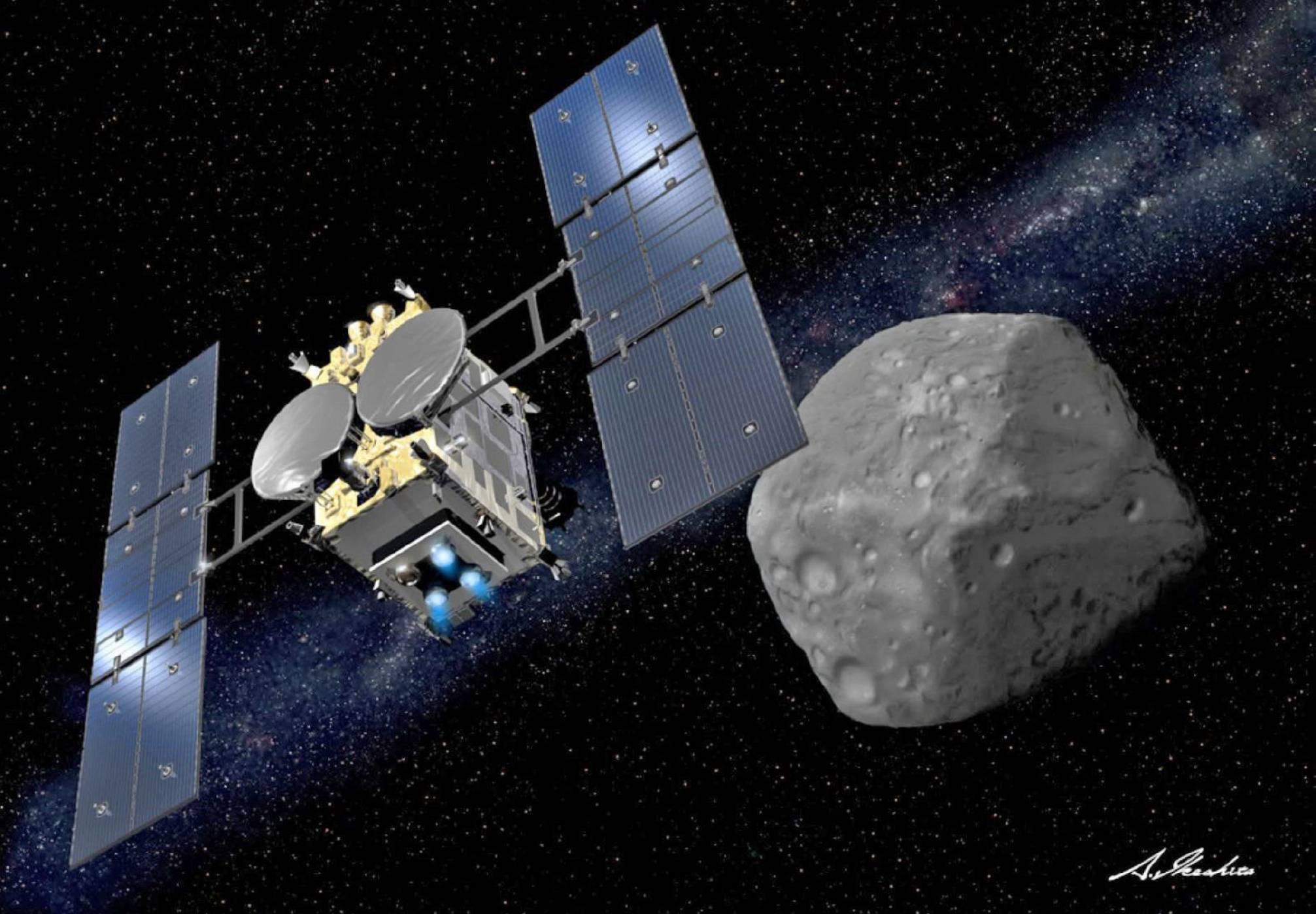 Hayabusa 2 започва да извлича ресурси от астероид на 22 февруари