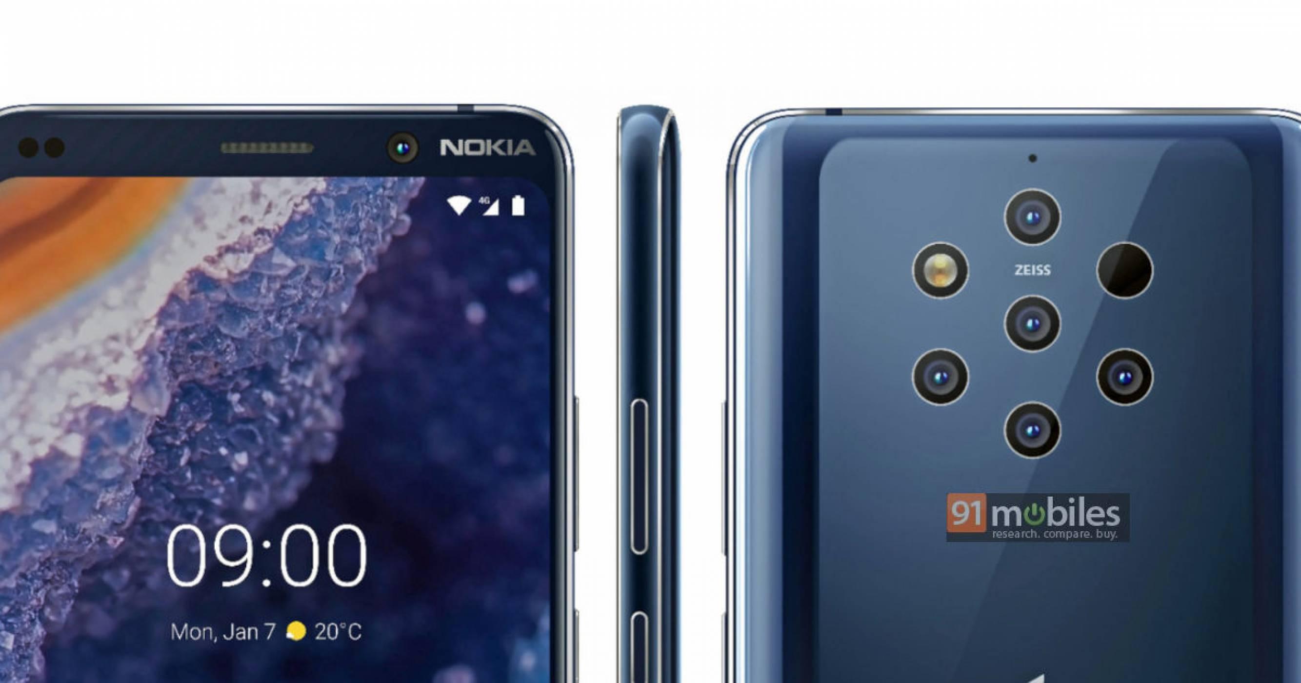 Течове на Nokia 9 PureView ни подготвят за болна камера! (СНИМКИ)