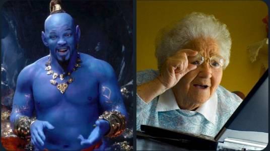 Уил Смит е в тревожно син в новия Avatа… Aladdin филм (ВИДЕО)