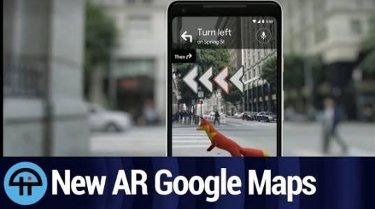 Добавената реалност в Google Maps – по-добрият GPS?
