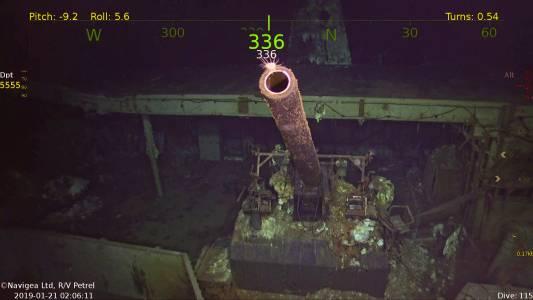 Подводен дрон откри митичен самолетоносач от Втората световна война