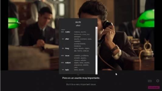 Разширение за Chrome ви помага да учите езици, докато гледате Netflix