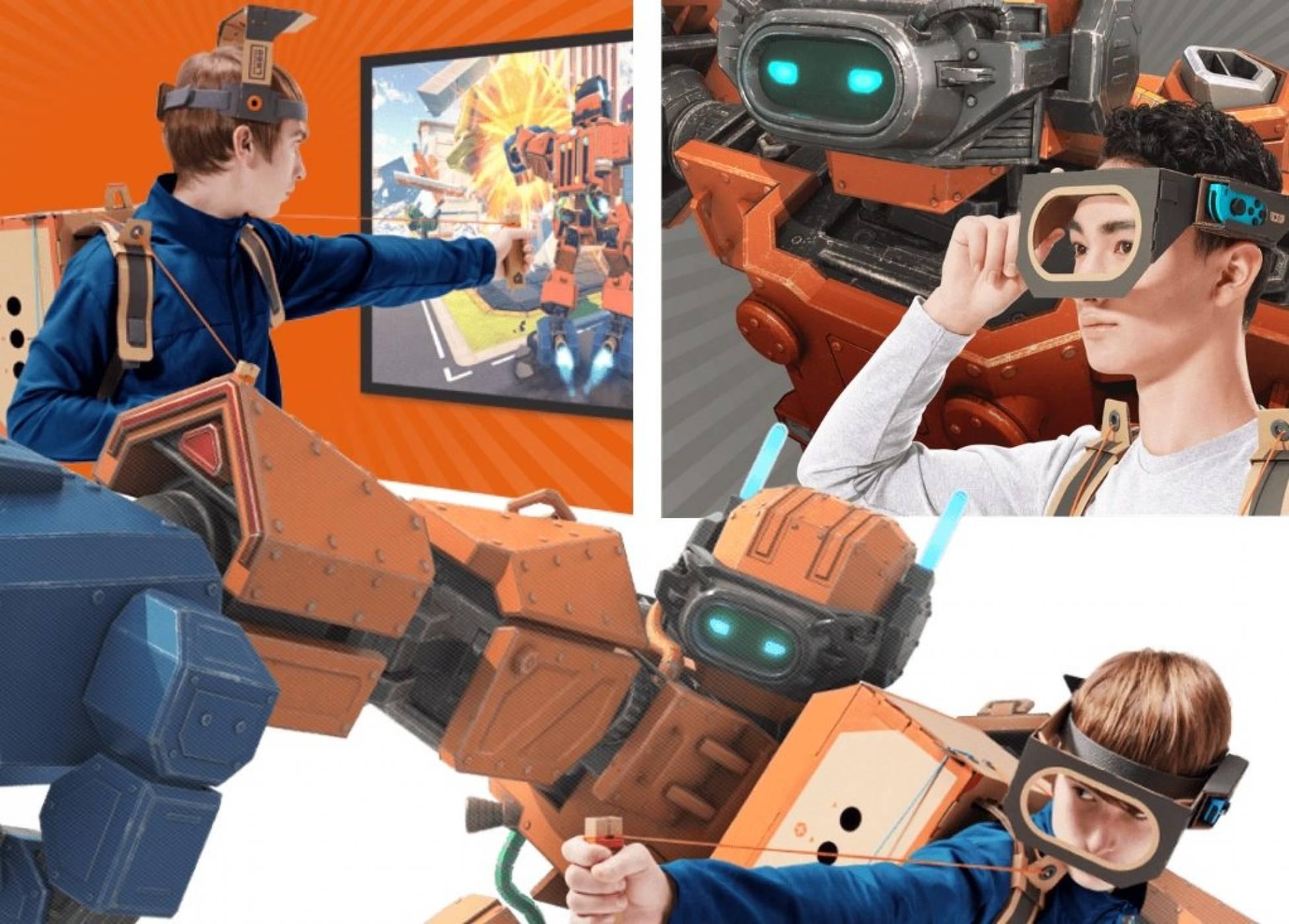 На Nintendo Switch не му трябва VR, но май ще го получи