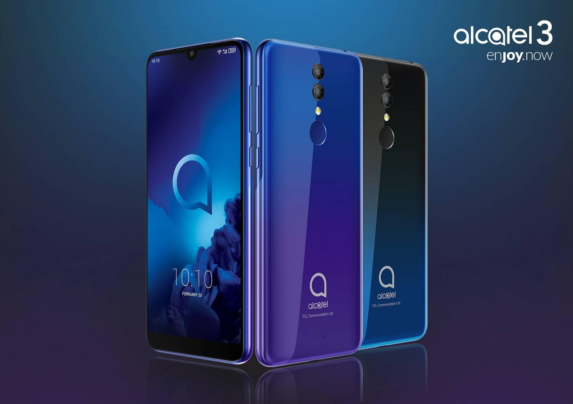 Какво ново от Alcatel на MWC 2019. Плюс цени на съответните устройства