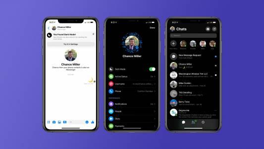 Най-накрая Facebook Messenger с тъмна тема. Ето как да я активирате