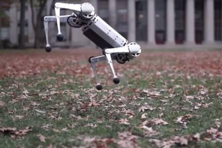 MIT създаде първия четирикрак робот, който може да прави задно салто (ВИДЕО)