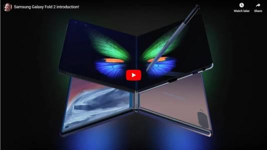 Ново видео за  Galaxy Fold го представя в различна светлина