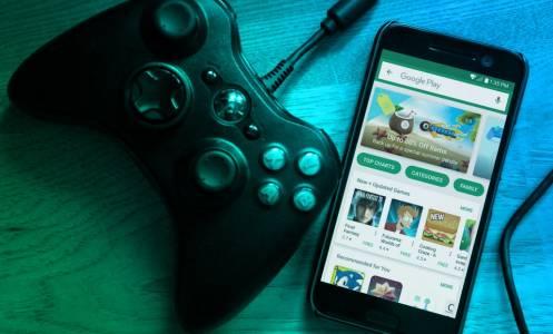 Google патентова контролер, вероятно за своята гейм платформа