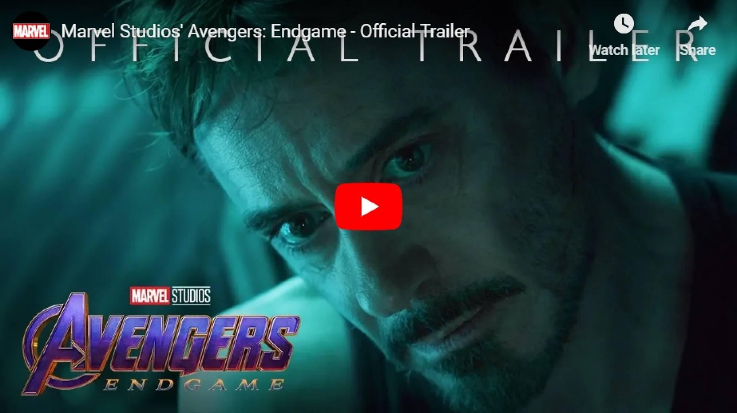 Тонове притихнала епика във финалния трейлър на Avengers: Endgame