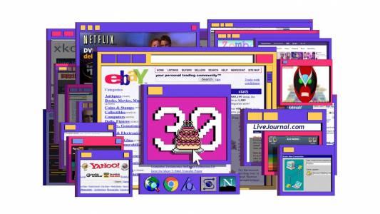 WWW на 30: незабравима разходка по сайтовете от нейната младост
