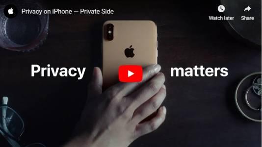 """Новата реклама на iPhone е хитра и """"поверителна"""" (ВИДЕО)"""