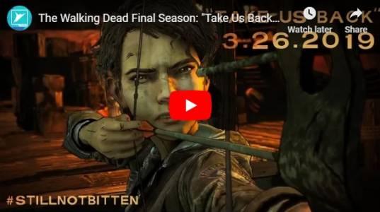 Ще го бъде и финалния епизод на The Walking Dead. Имаме и трейлър
