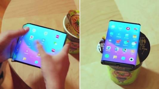 Двойно сгъващият се смартфон на Xiaomi е като оригами с екран (ВИДЕО)