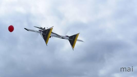 Руски дрон ловува други дронове в небето с помпа (ВИДЕО)