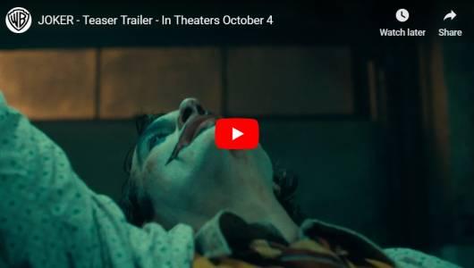 Трейлърът на Joker е примамливо мрачен (ВИДЕО)