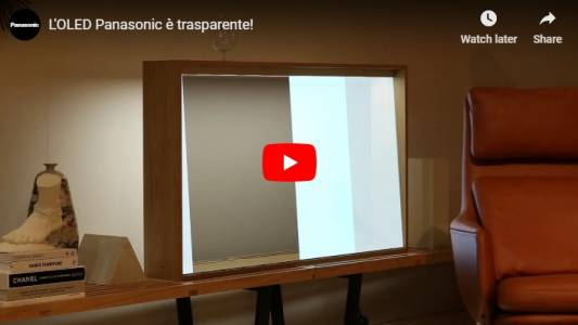 Panasonic показа прозрачен OLED дисплей (ВИДЕО)