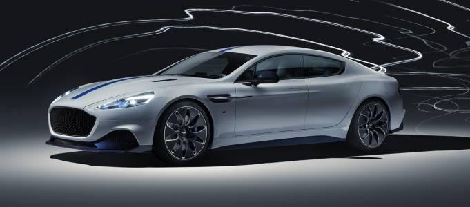 Rapide E: първата е-кола на Aston Martin и Джеймс Бонд